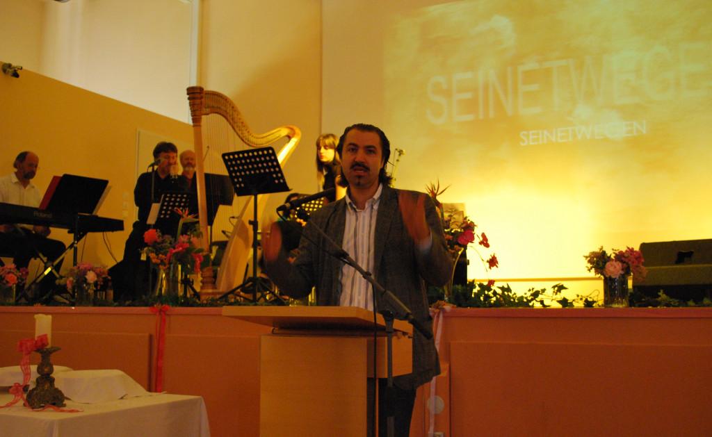 Mit Wolfgang Sutter, Agape Österreich - Präsentation