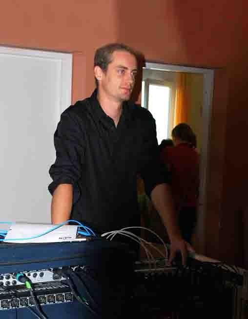 Mit Florian Heinz, Tontechnik