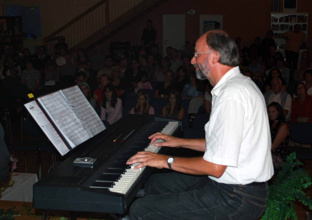 Mit Joachim Orth, Piano