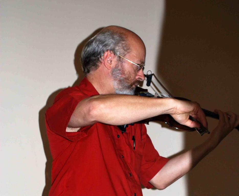 Mit Ulrich Krauß, Violine