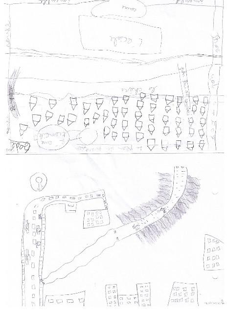 Passagers du Cher : travail avec les enfants et l'école André Gide