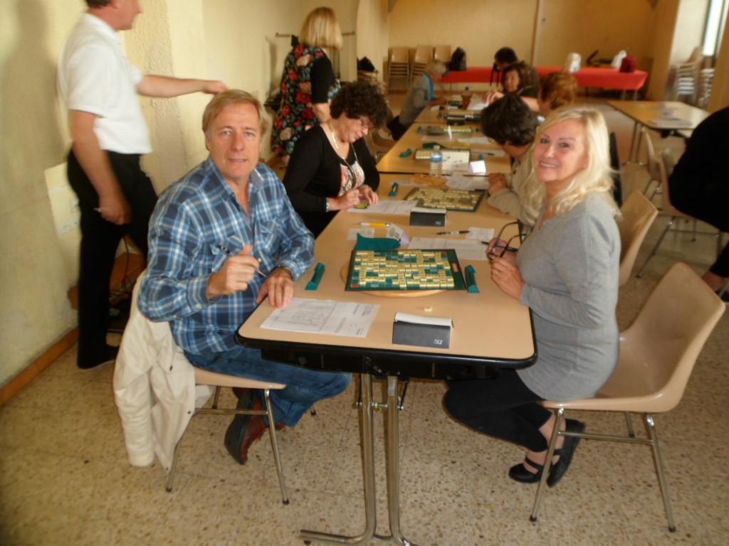 """""""Table 1 à le première partie. Je le sens bien ce tournoi!!!"""" : Jean Jacques"""
