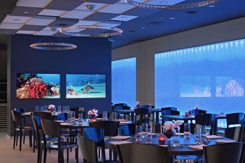 Le kursaal aquarium pour les soirées du club.