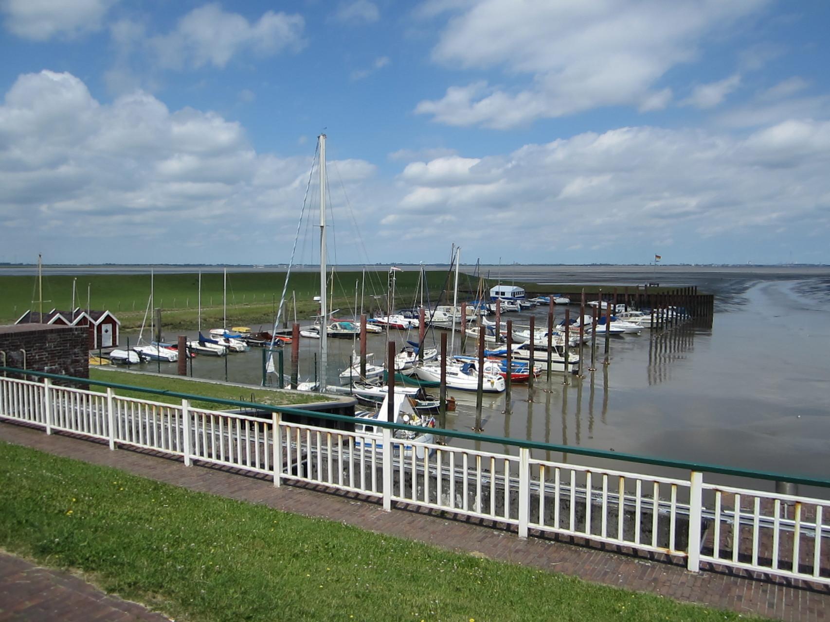 Dangaster (Yacht)Hafen