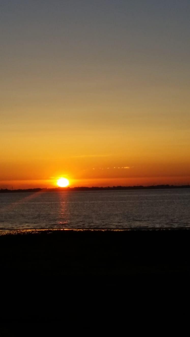 Herrlicher Sonnenuntergang Ende Juni 2019