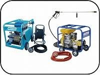 業務用高圧洗浄機(フレームエンジン)