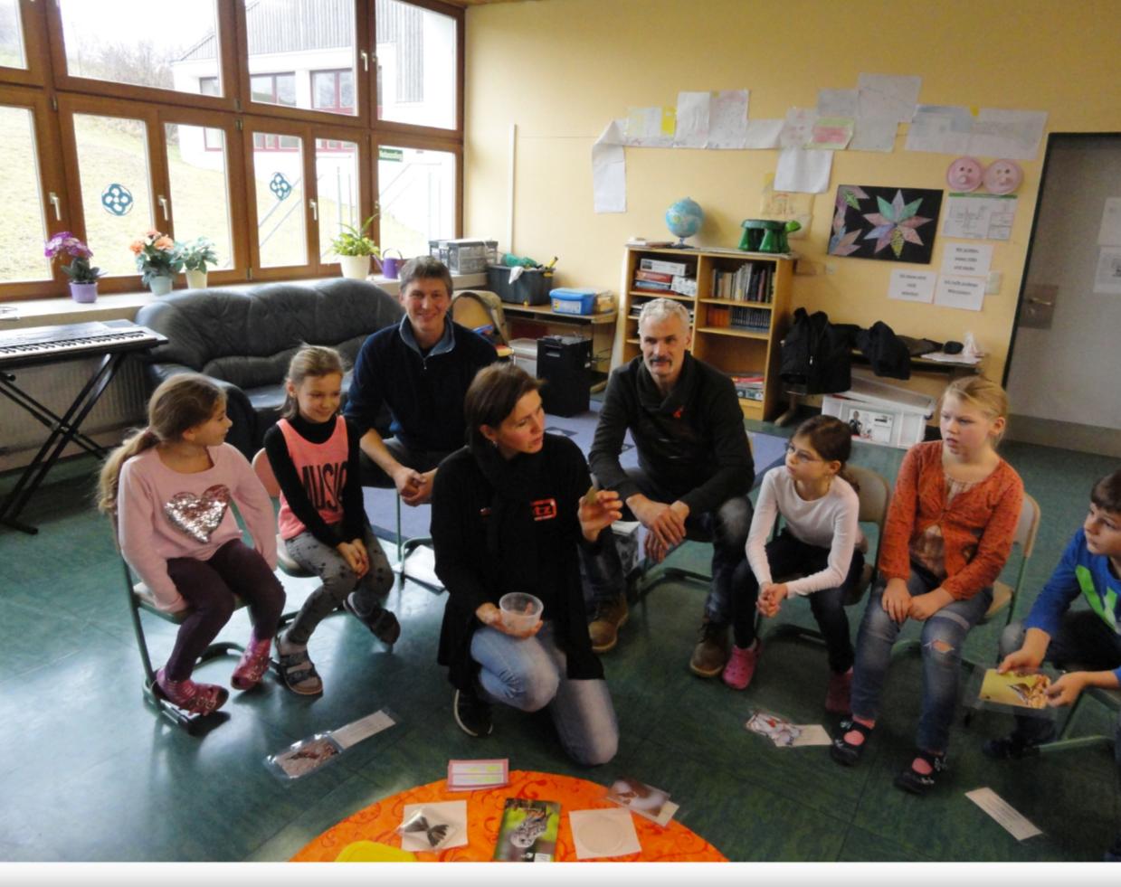 Schulklassenprogramm Foto: C. Kainz