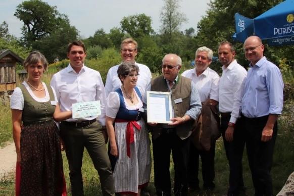 Einweihung der Umweltstation in Wiesmühl Foto: LBV