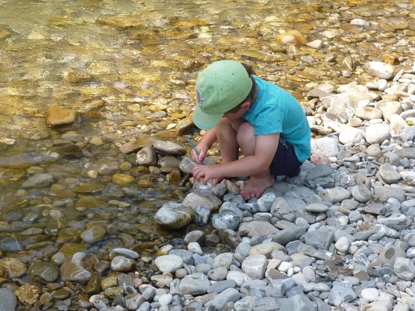 Erforschung von Wassertieren Foto: J. Prummer