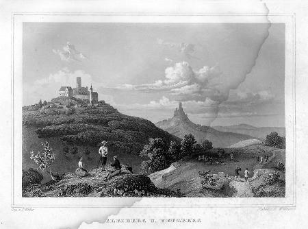Die Burg 1849