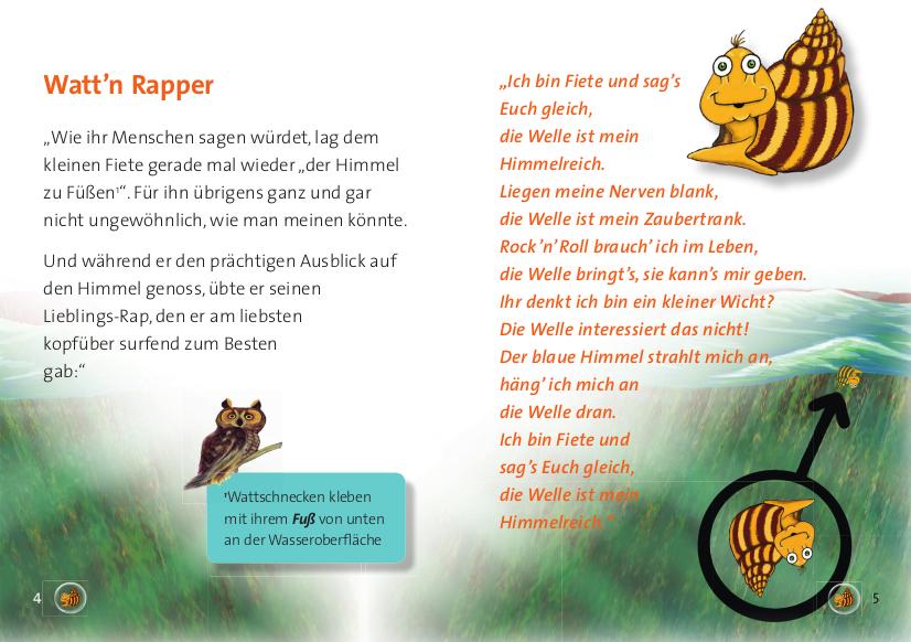 Tiere im Wattenmeer für Kinder erklärt Sylt für Kids