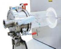 Quarzglas und Flansche für Schutzgasbetrieb als Zusatzausstattung