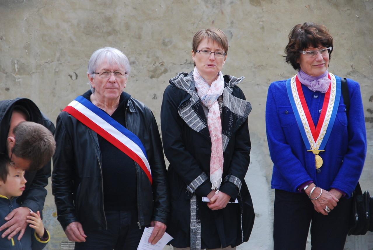Cérémonie du 28 avril 2013 à la mémoire des déportés Baulne en brie