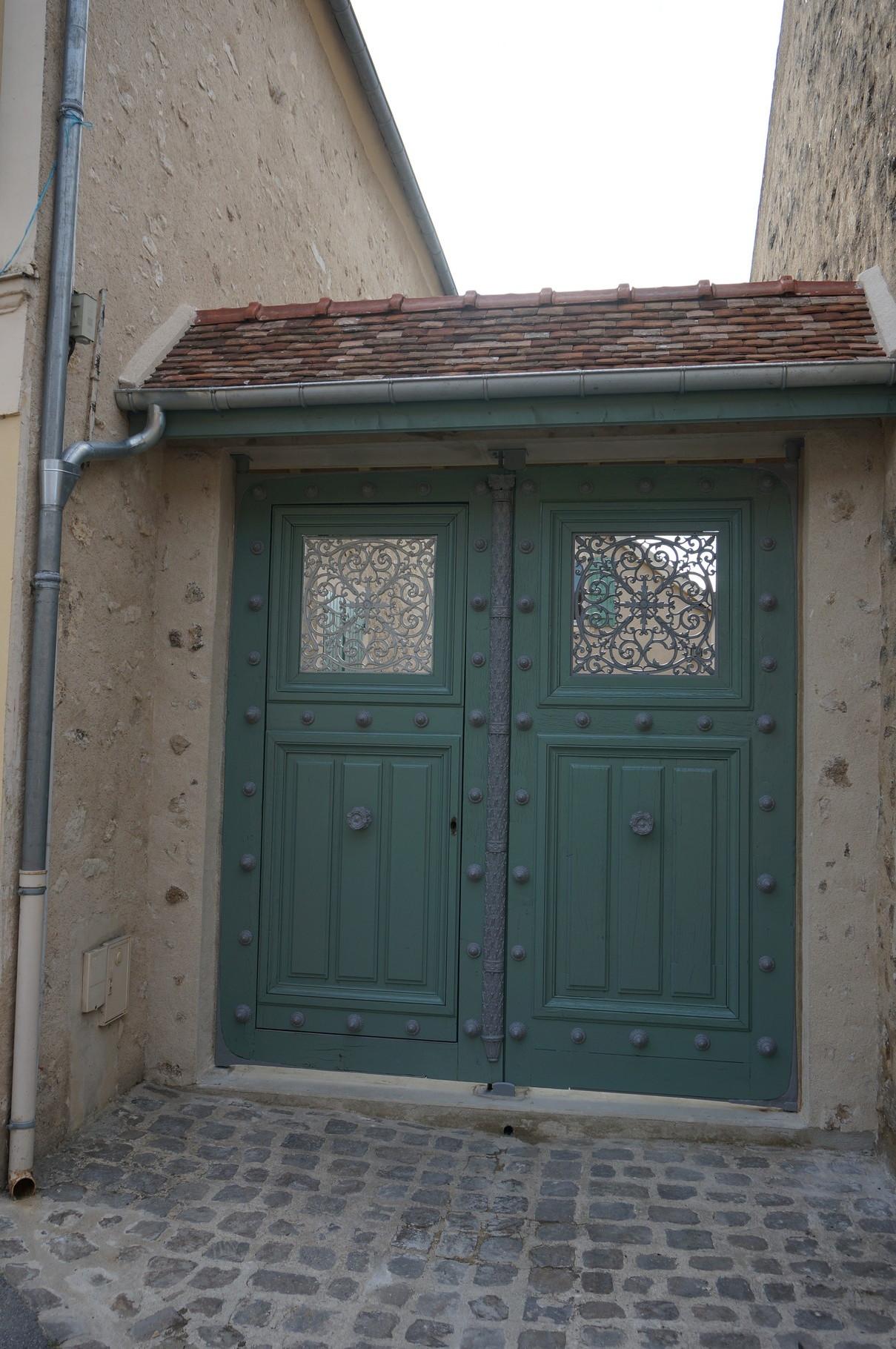 La porte de prison de la Petite Roquette - inauguration 2014