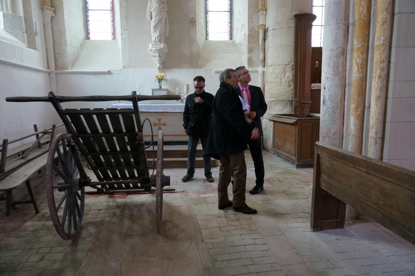 Visite de l'église Saint-Barthélémy à Baulne-en-Brie
