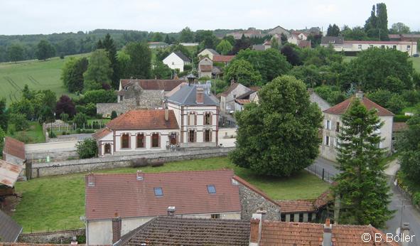Vue du clocher la mairie
