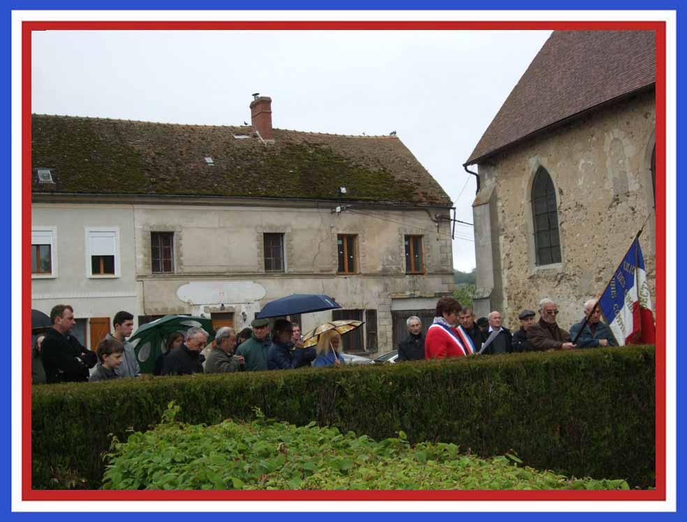 Appel aux morts de La Chapelle-Monthodon