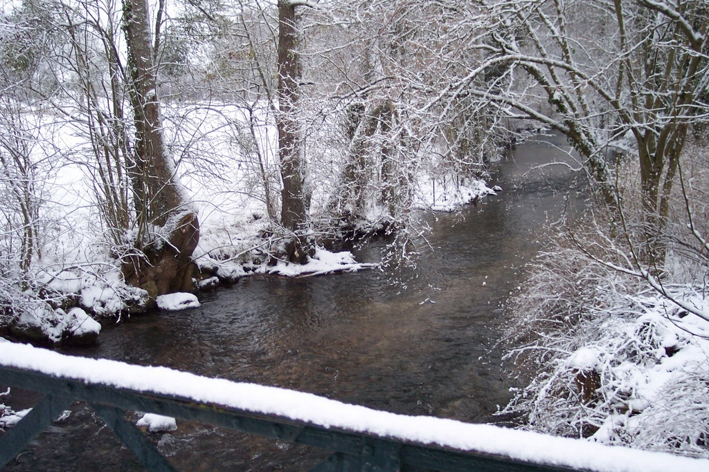 Le Surmelin sous la neige (hiver 2011-2012)