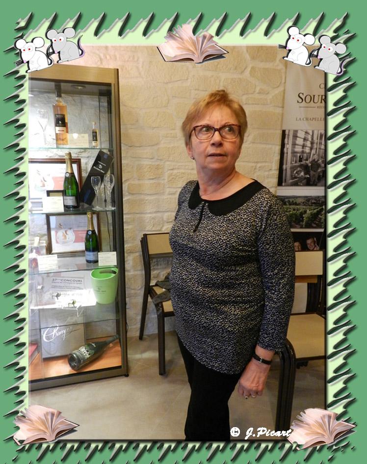 L'hôtesse,  Nadine Sourdet