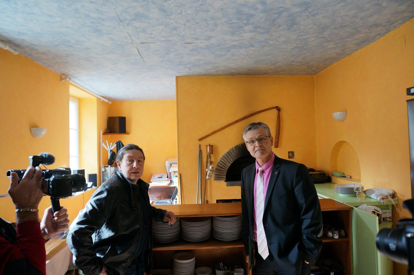 En compagnie du Maître restaurateur Raynald Dubus