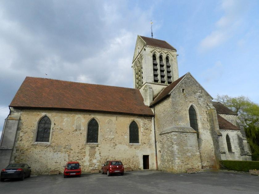 Eglise de la Nativité-de-la-Sainte-Vierge à La Chapelle-Monthodon