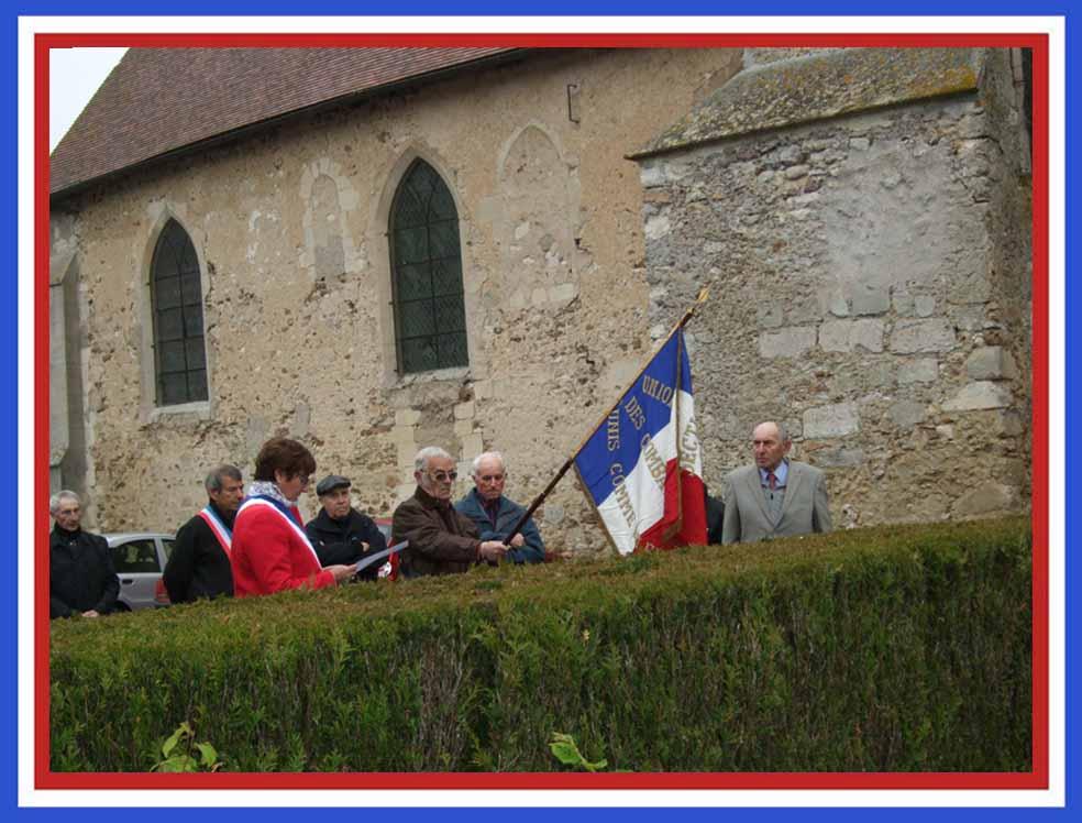1ère cérémonie à La Chapelle-Monthodon.