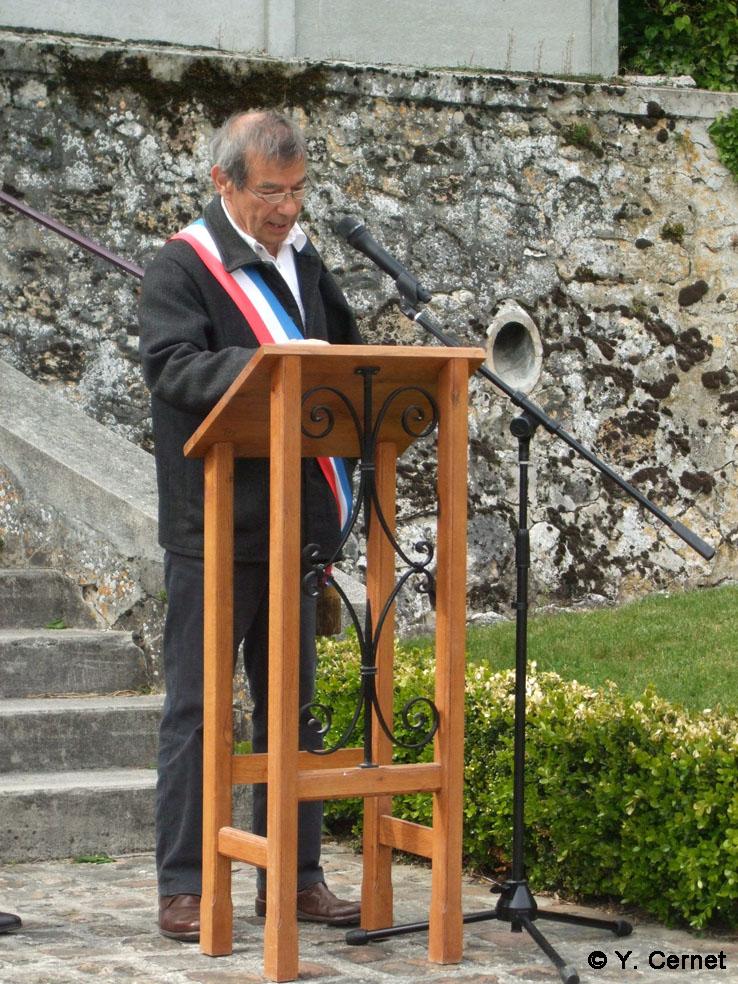 Bruno Lahouati Maire de Vallées-en-Champagne