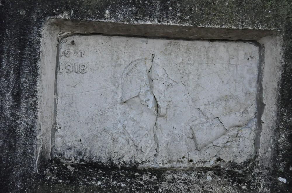 Le calvaire à la mémoire des morts 1914-1918 (au dessus de Nogent)