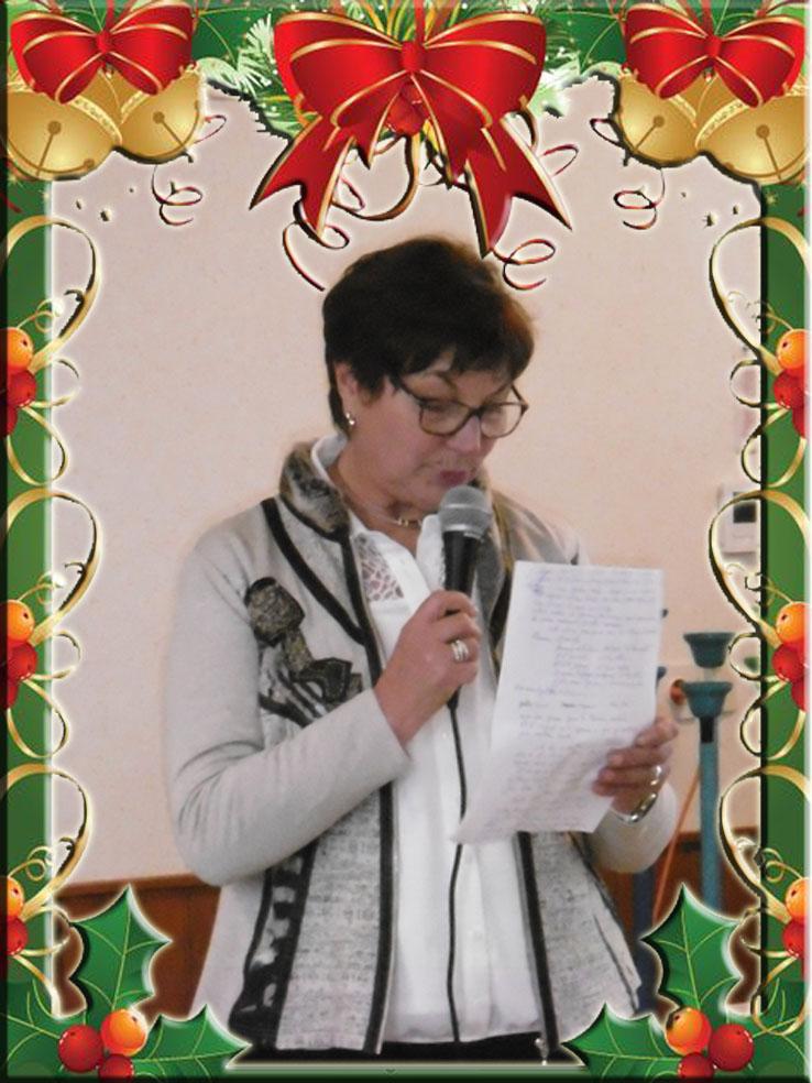 Le discours de Jacqueline Picard (Maire déléguée).