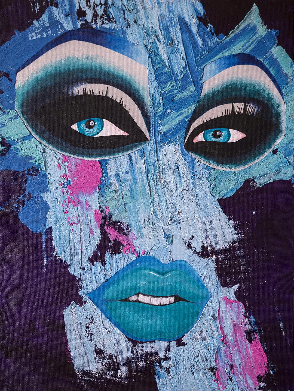 Blu Hydrangea Purple