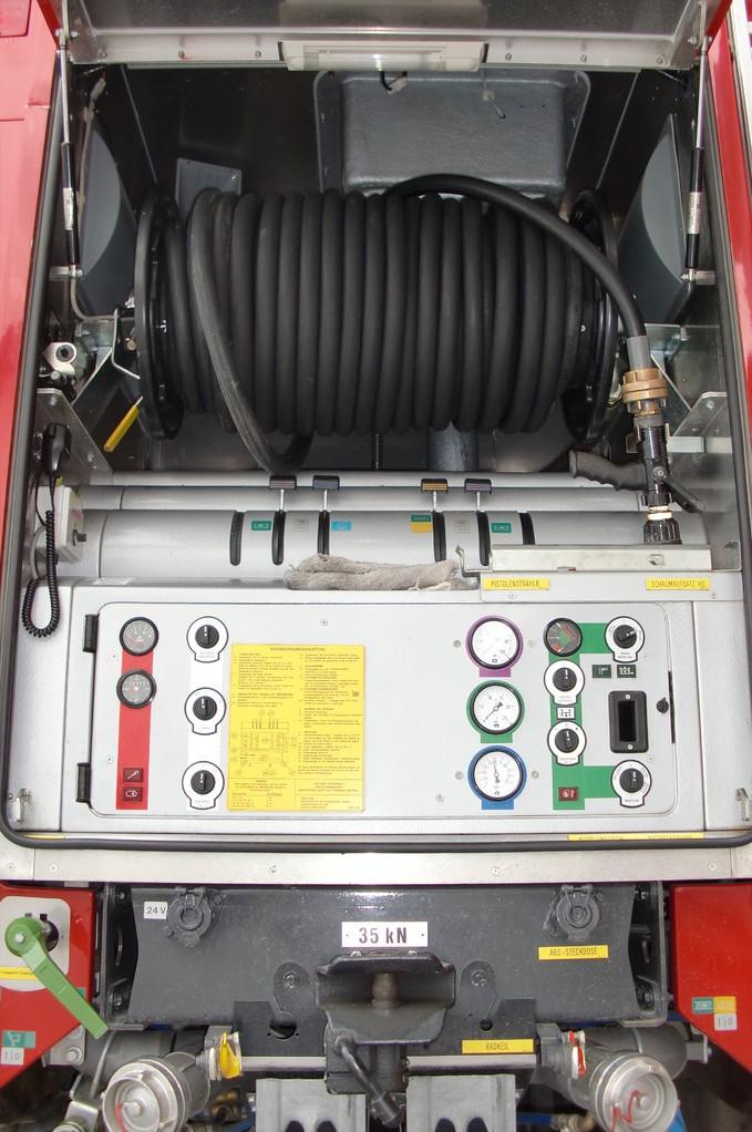 Pumpenbedienung mit HD-Löschvorrichtung