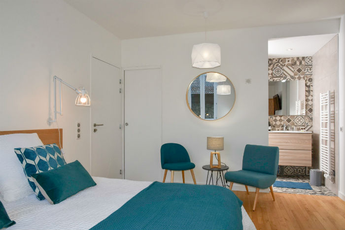 Chambre Blue - Grenoble