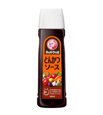 "Tonkatsu sauce "" Bull-Dog"" 500ml, ブルドッグ とんかつソース"