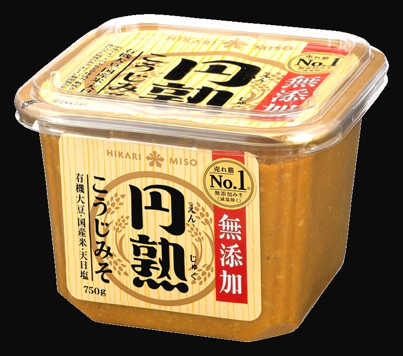 "MISO (avec soja bio) "" HIKARI "" 750g, 円熟こうじみそ ひかり"