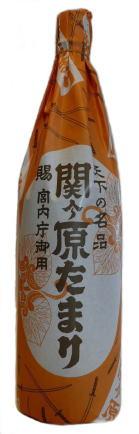 """Sauce soja TAMARI """" Sekigahara """" 300ml, たまり醤油 関ケ原"""