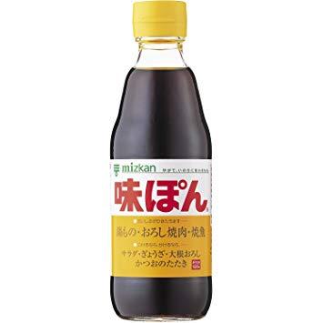 "Ponzu "" Mizkan "" 360ml & 1L, 味ぽん ミツカン"
