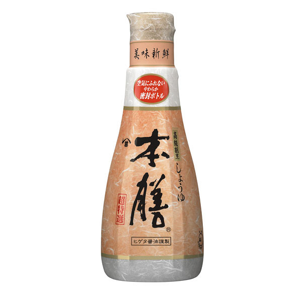 """Sauce soja """" Higeta """" 200ml, 本膳醤油 ヒゲタ"""