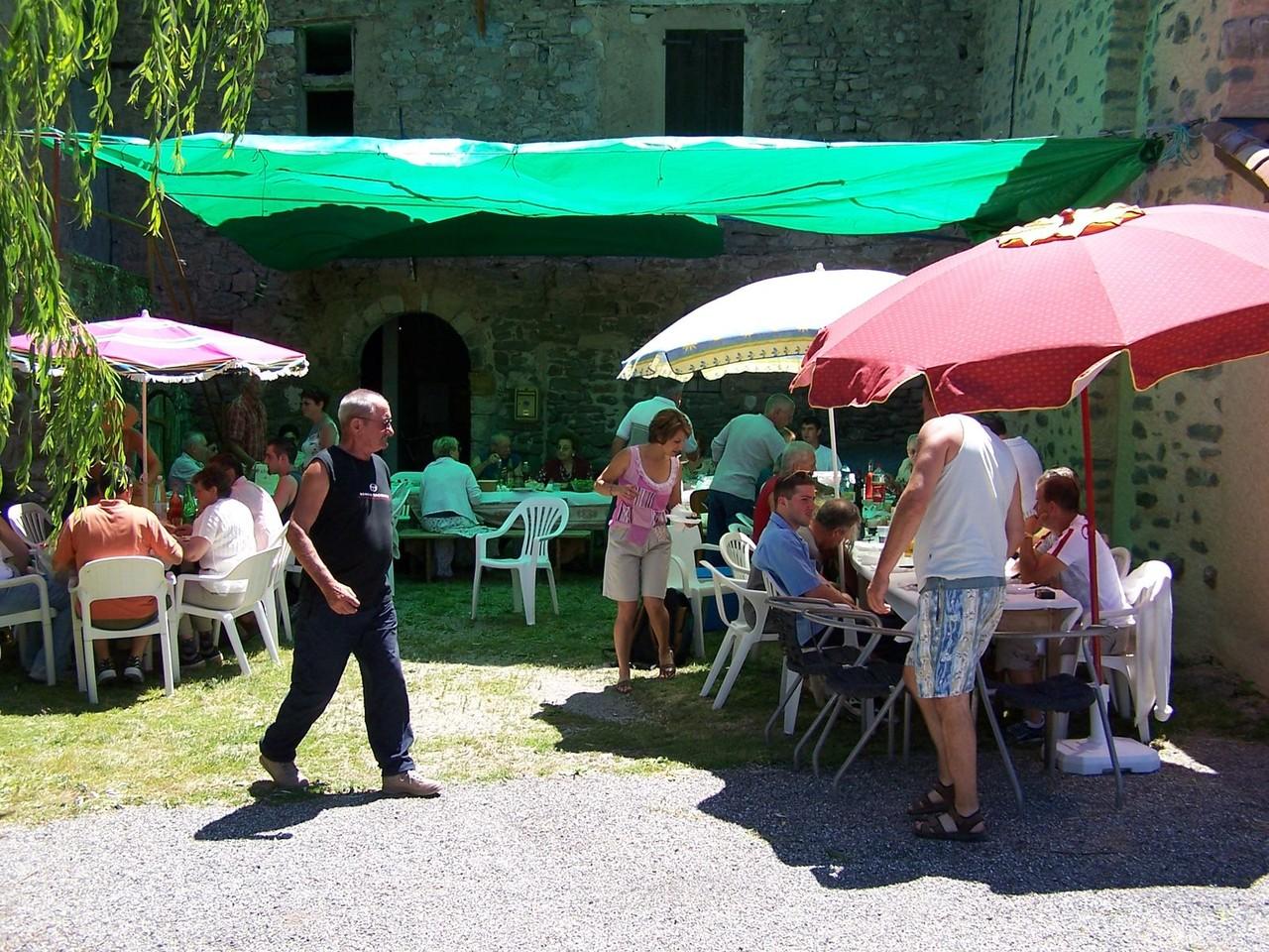 Fête Esparron 2 juillet 2005