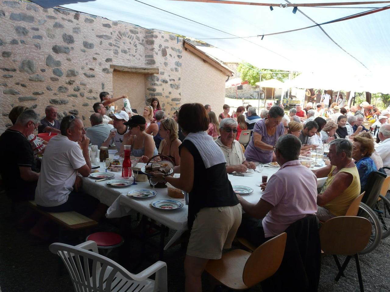 Fête Esparron 7 juillet 2012