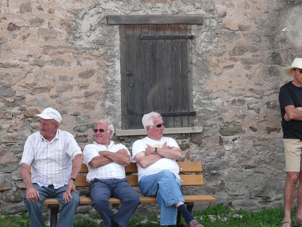 Fête Esparron 12 juillet 2008