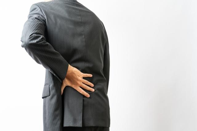背部腰部の慢性的な痛みの症例