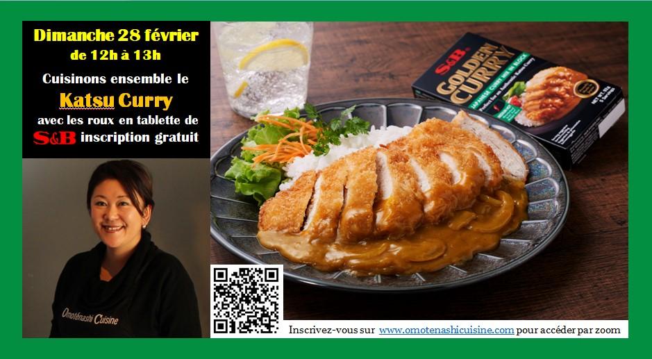 Cuisinons ensemble avec S&B Golden Curry