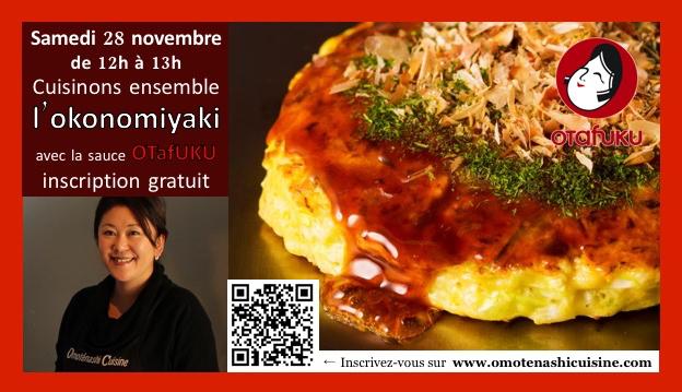 Cuisinons ensemble avec la sauce OTAFUKU