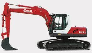 O&K RH Excavator