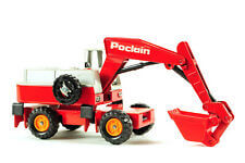Poclain Wheeled Excavator