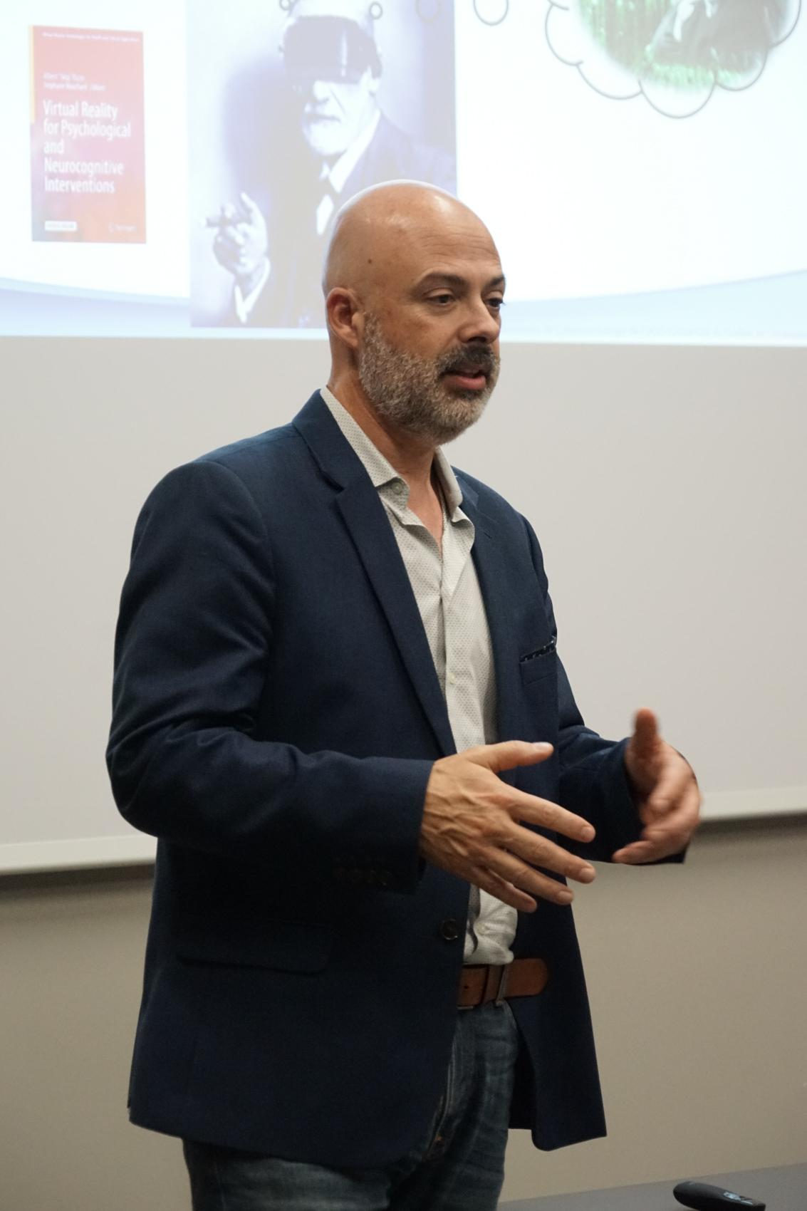 Conférence du Pr Stéphane Bouchard