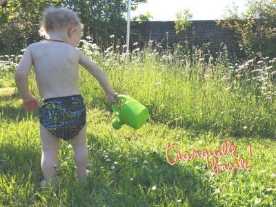 Comment habiller bébé en couches lavables ?