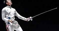 日本フエンシング界で、       日本人初の年間王者になった見延選手