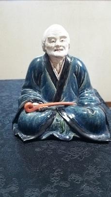 三国丹祐造 賣茶翁像