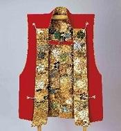 徳川昭武がヨーロッパで 着用した陣羽織